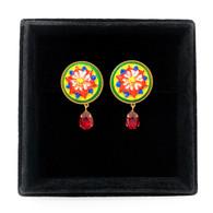 Dolce & Gabbana Floral Clip Earrings