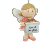 Personalised Cute Fairy Christmas Tree Decoration