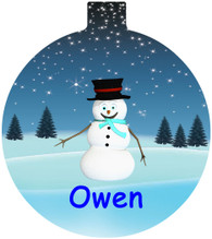 Christmas Bauble Personalised