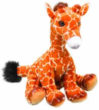 Yomiko 12017-12.7cm Sitting Giraffe