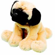 Yomiko 12006 Soft Toy Pug 12.7 cm Sitting