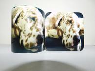 English Setter Dog Mug and Coaster Set