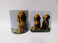Basset Fauve De Bretagne Dog Mug and Coaster Set