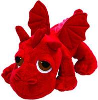 Suki Gifts Li 'L Peepers 14257Red Dragon Jumbo Plϋsch Animal