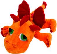 Suki Gifts Li 'L Peepers 14258Orange Dragon Jumbo Plϋsch Animal