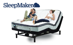Sleepmaker Relax 2100 Adjustable Queen Bed