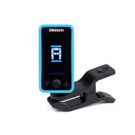 Eclipse Headstock Tuner, Blue, by D'Addario