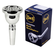 Bach 6.5AL Silver Plated Large Shank Trombone Mouthpiece 3416HAL