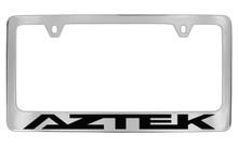 Pontiac Aztek Block Letters License Plate Frame