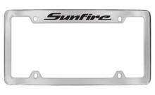 Pontiac Sunfire Top Engraved Chrome Plated Brass Black Imprint