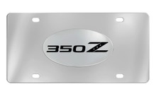 Nissan 350Z 350 Z Chrome Plated Solid Brass Emblem Attached To A Stainless Steel Plate