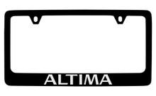 Nissan Altima Official Black License Plate Frame Tag Holder