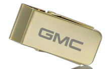GMC Gold Plated Money Clip