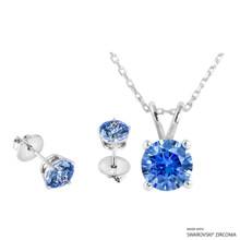 Necklace + Earring Made With Swarovski Zirconia (SNEZ2-31338)