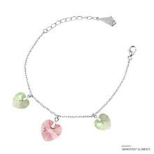 Circle Of Love Bracelet Embellished With Swarovski Crystals
