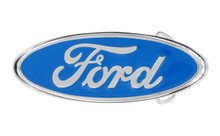 Ford Blue Oval Solid Brass Buckle