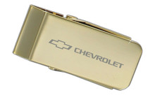 Chevrolet Gold Plated Money Clip