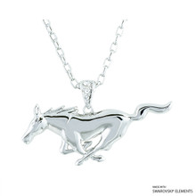Ford Pony Necklace Embellished With Swarovski Crystals