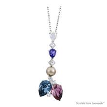 Light Of Hope Necklace Embellished With Swarovski Crystals