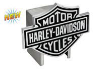Harley-Davidson® Hitch Cover Black Harley-Davidson® Bar & Shield Logo Emblem Plus Hitch Ball Post Components (HDHCBE14)