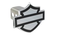 "Harley-Davidson® 1.25"" Mini Hitch Cover Set With Plain Bar & Shield Emblem"