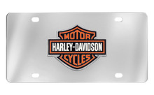 Harley-Davidson® 3 Color Bar & Shield Emblem License Plate