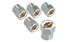 Harley-Davidson® 2 Color Bar & Shield Valve Stem Cap
