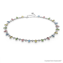 Impulsive Nature Necklace Embellished With Swarovski® Crystals