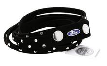 Ford Blue Oval Wrap Bracelet Embellished With Swarovski® Crystals