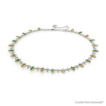 Sherwood Forest Necklace Embellished With Swarovski® Crystals