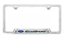 Ford EcoSport Metal License Plate Frame
