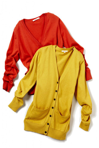 [Sample] Maccas, colorful cardigans
