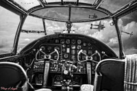 WWII P-38 Airplane Cockpit Michael Malak Image