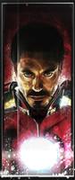 Daniel Murray Iron Man Comic Book Art Signed Print Matte