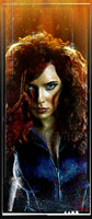 Daniel Murray Black Widow Portrait Signed Matte Print