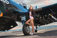 Wings of Angels Michael Malak Ashten Goodenough 06 WWII Corsair 11x17