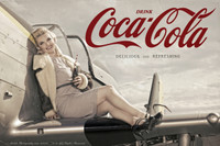 Malak Alexa Delicious and Refreshing Coca Cola Coke Print