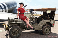 Wings of Angels Michael Malak Casey Ann WWII Jeep