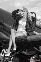 Wings of Angels Michael Malak Ashten Goodenough 08 WWII Corsair 11x17