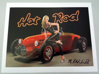 Hot Rod Signed Print Greg Hildebrandt