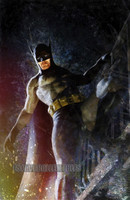 The Batman Perch Signed Print Matte Daniel Murray