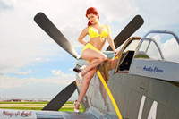Wings of Angels Malak Ariel WWII P-51D Mustang Print 05