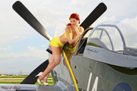 Wings of Angels Malak Ariel WWII P-51D Mustang Print 06