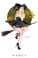 Malak LouLou D'vil Witchcraft Cheesecake Print