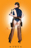 Claire Sinclair - Cowgirl Claire Print Malak