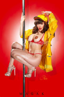 Claire Sinclair - Firefighter Claire Print Malak
