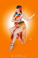 Claire Sinclair - Hula Claire Print Malak