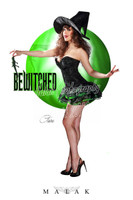 Claire Sinclair - Bewitched Print Malak