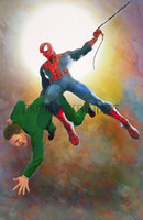 Swinging Spiderman Signed Print Daniel Murray