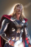 Thor Signed Print Murray